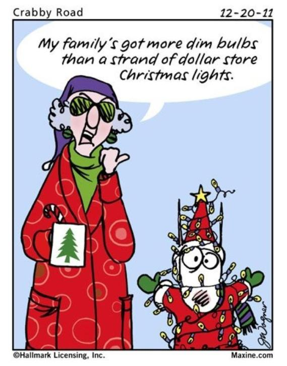 Maxine Christmas Family on Short Funny Quotes About Aging