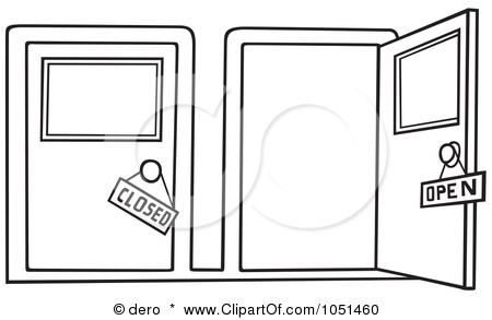 Closed Door Drawing